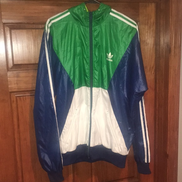 adidas Other - Blue   Green   White Adidas Originals Jacket 19350a3fd34c